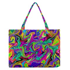 Artwork By Patrick Pattern 15 Zipper Medium Tote Bag