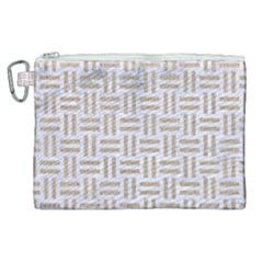 Woven1 White Marble & Sand (r)woven1 White Marble & Sand (r) Canvas Cosmetic Bag (xl) by trendistuff