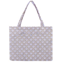 Scales2 White Marble & Sand (r) Mini Tote Bag by trendistuff