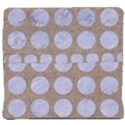 CIRCLES1 WHITE MARBLE & SAND Back Support Cushion View4