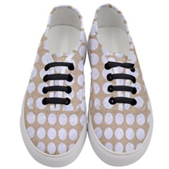 Circles1 White Marble & Sand Women s Classic Low Top Sneakers