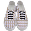 CIRCLES1 WHITE MARBLE & SAND Women s Classic Low Top Sneakers View1