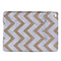 CHEVRON9 WHITE MARBLE & SAND (R) iPad Air 2 Hardshell Cases View1