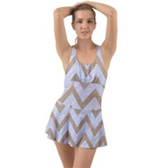 CHEVRON9 WHITE MARBLE & SAND (R) Swimsuit