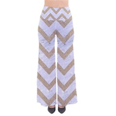 CHEVRON9 WHITE MARBLE & SAND (R) Pants