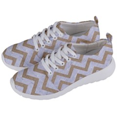 CHEVRON9 WHITE MARBLE & SAND (R) Men s Lightweight Sports Shoes