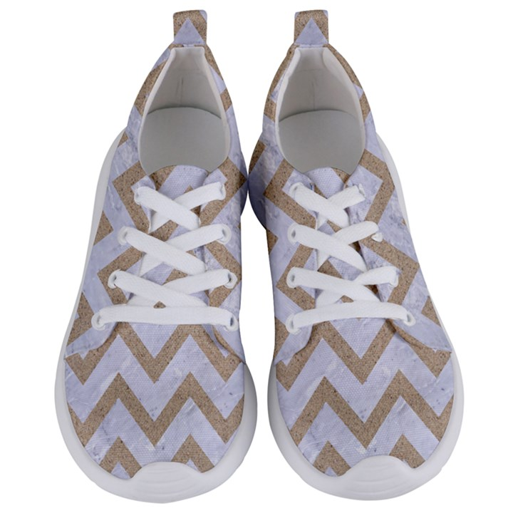 CHEVRON9 WHITE MARBLE & SAND (R) Women s Lightweight Sports Shoes