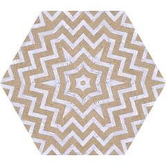 CHEVRON9 WHITE MARBLE & SAND Mini Folding Umbrellas
