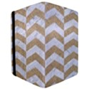 CHEVRON2 WHITE MARBLE & SAND iPad Mini 2 Flip Cases View3