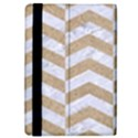 CHEVRON2 WHITE MARBLE & SAND iPad Mini 2 Flip Cases View4