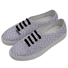 BRICK2 WHITE MARBLE & SAND (R) Men s Classic Low Top Sneakers