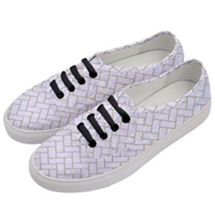 BRICK2 WHITE MARBLE & SAND (R) Women s Classic Low Top Sneakers