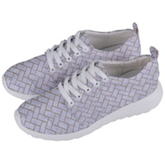 BRICK2 WHITE MARBLE & SAND (R) Men s Lightweight Sports Shoes
