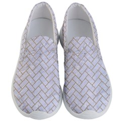 BRICK2 WHITE MARBLE & SAND (R) Men s Lightweight Slip Ons