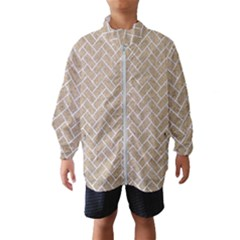 Brick2 White Marble & Sand Wind Breaker (kids) by trendistuff