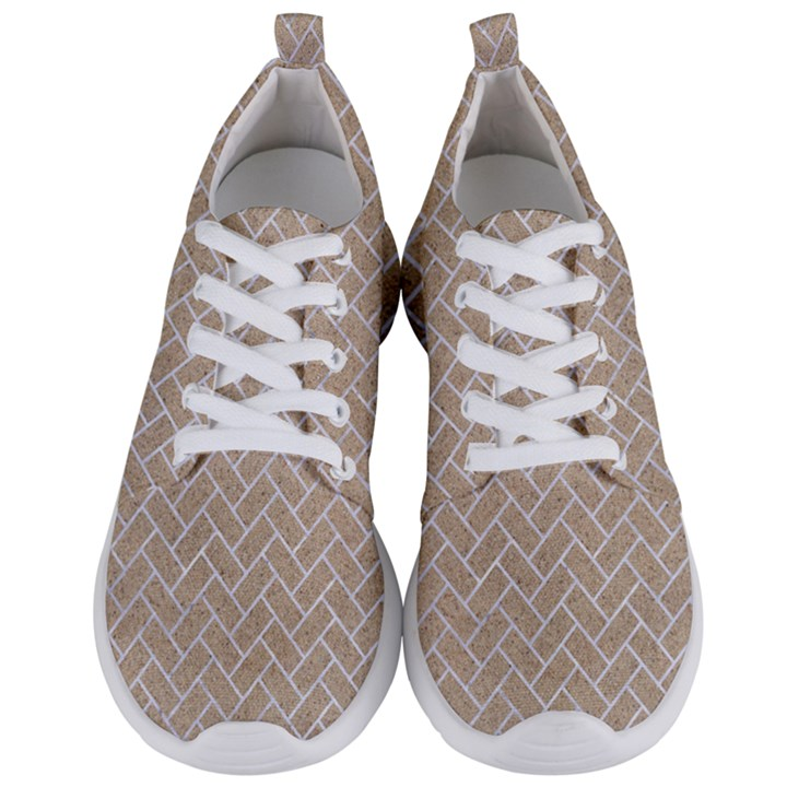 BRICK2 WHITE MARBLE & SAND Men s Lightweight Sports Shoes