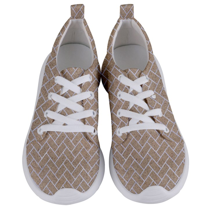 BRICK2 WHITE MARBLE & SAND Women s Lightweight Sports Shoes