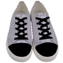 BRICK1 WHITE MARBLE & SAND (R) Men s Low Top Canvas Sneakers View1