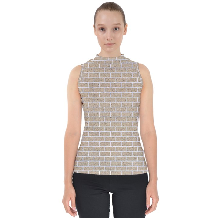 BRICK1 WHITE MARBLE & SAND Shell Top