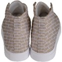 BRICK1 WHITE MARBLE & SAND Kid s Hi-Top Skate Sneakers View4