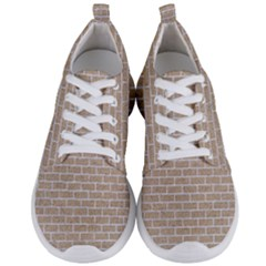Brick1 White Marble & Sand Men s Lightweight Sports Shoes