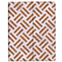 WOVEN2 WHITE MARBLE & RUSTED METAL (R) Apple iPad 3/4 Flip Case View1