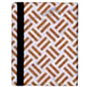 WOVEN2 WHITE MARBLE & RUSTED METAL (R) Apple iPad 3/4 Flip Case View3