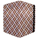 WOVEN2 WHITE MARBLE & RUSTED METAL (R) Apple iPad 3/4 Flip Case View4