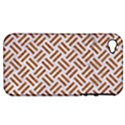 WOVEN2 WHITE MARBLE & RUSTED METAL (R) Apple iPhone 4/4S Hardshell Case (PC+Silicone) View1