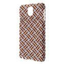 WOVEN2 WHITE MARBLE & RUSTED METAL (R) Samsung Galaxy Note 3 N9005 Hardshell Case View3