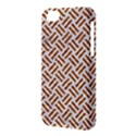 WOVEN2 WHITE MARBLE & RUSTED METAL (R) Apple iPhone 5C Hardshell Case View3