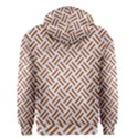 WOVEN2 WHITE MARBLE & RUSTED METAL (R) Men s Zipper Hoodie View2
