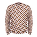 WOVEN2 WHITE MARBLE & RUSTED METAL (R) Men s Sweatshirt View1