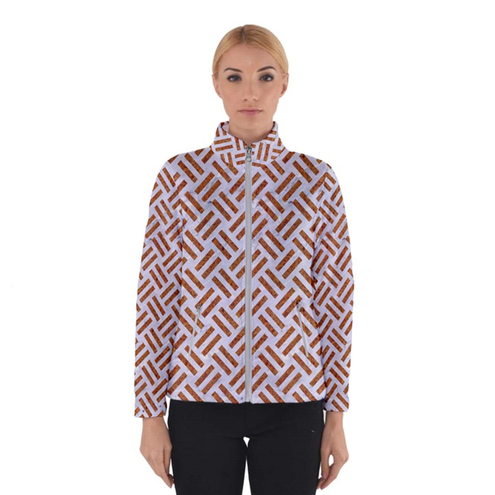 WOVEN2 WHITE MARBLE & RUSTED METAL (R) Winterwear
