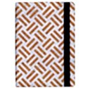WOVEN2 WHITE MARBLE & RUSTED METAL (R) Apple iPad Pro 12.9   Flip Case View2