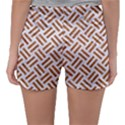 WOVEN2 WHITE MARBLE & RUSTED METAL (R) Sleepwear Shorts View2