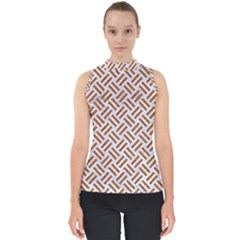 WOVEN2 WHITE MARBLE & RUSTED METAL (R) Shell Top