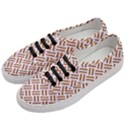 WOVEN2 WHITE MARBLE & RUSTED METAL (R) Women s Classic Low Top Sneakers View2