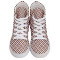 WOVEN2 WHITE MARBLE & RUSTED METAL (R) Men s Hi-Top Skate Sneakers View1