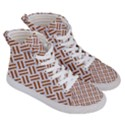 WOVEN2 WHITE MARBLE & RUSTED METAL (R) Men s Hi-Top Skate Sneakers View3