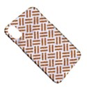 WOVEN2 WHITE MARBLE & RUSTED METAL (R) Apple iPhone X Hardshell Case View5