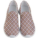 WOVEN2 WHITE MARBLE & RUSTED METAL (R) Men s Lightweight Slip Ons View1