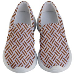 WOVEN2 WHITE MARBLE & RUSTED METAL (R) Kid s Lightweight Slip Ons