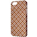 WOVEN2 WHITE MARBLE & RUSTED METAL Apple iPhone 5 Classic Hardshell Case View3
