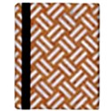 WOVEN2 WHITE MARBLE & RUSTED METAL Apple iPad 3/4 Flip Case View3