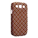 WOVEN2 WHITE MARBLE & RUSTED METAL Samsung Galaxy S III Classic Hardshell Case (PC+Silicone) View2