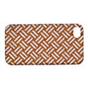WOVEN2 WHITE MARBLE & RUSTED METAL Apple iPhone 4/4S Hardshell Case with Stand View1