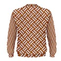 WOVEN2 WHITE MARBLE & RUSTED METAL Men s Sweatshirt View2