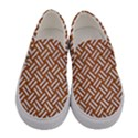 WOVEN2 WHITE MARBLE & RUSTED METAL Women s Canvas Slip Ons View1