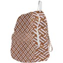 WOVEN2 WHITE MARBLE & RUSTED METAL Foldable Lightweight Backpack View4